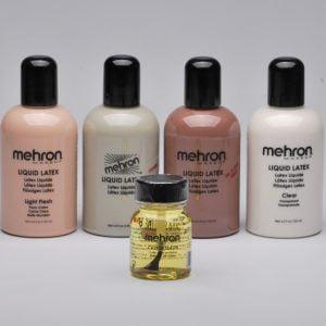 Mehron - Castor Sealer for Latex with Brush (30 ml)