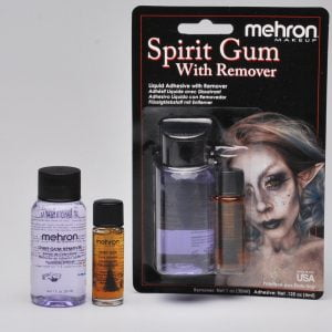 Mehron - Spirit Gum with Brush and Remover