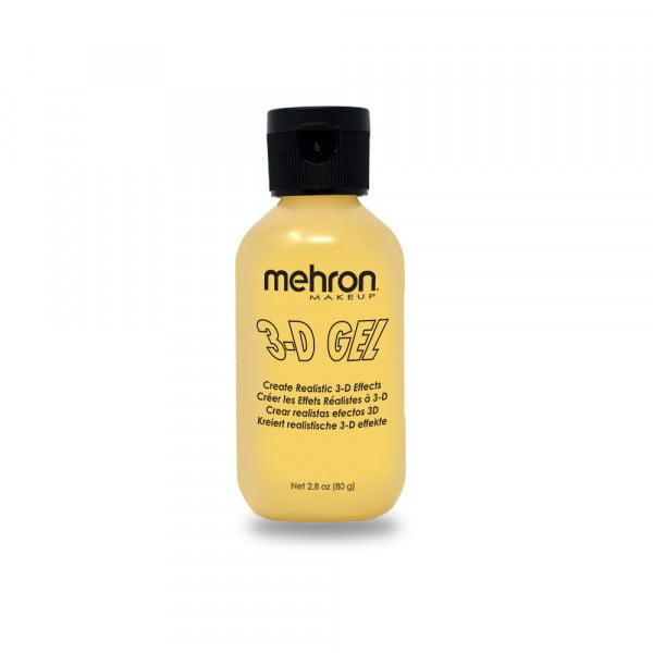 Mehron - 3-D Gel - Clear/Flesh/Blood Red