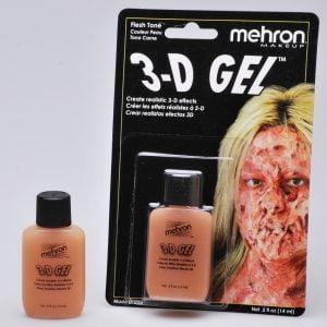 Mehron - 3-D Gel - Flesh Tone (15 ml)