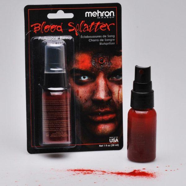 Mehron Fake Blood Splatter - Pump Bottle (30 ml)