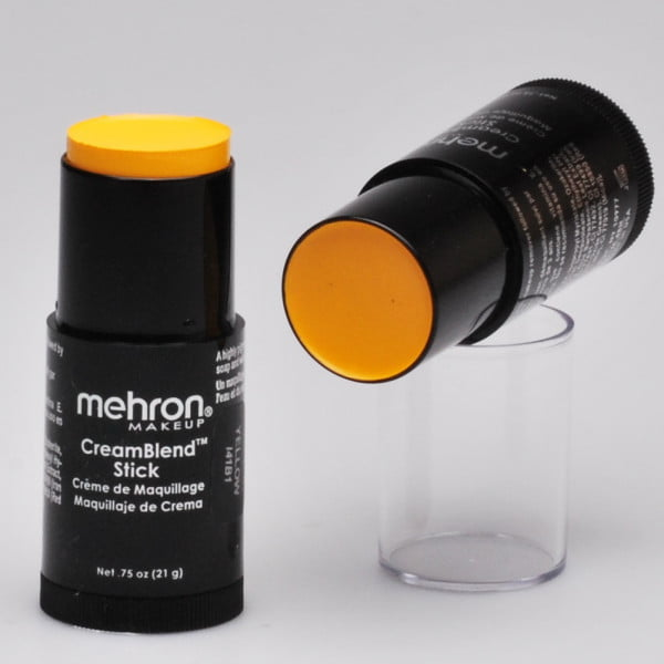 Mehron CreamBlend Stick - Yellow
