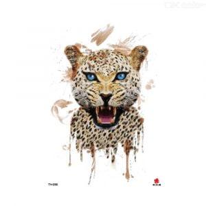 Temporary Tattoo TH-098 Cheetah