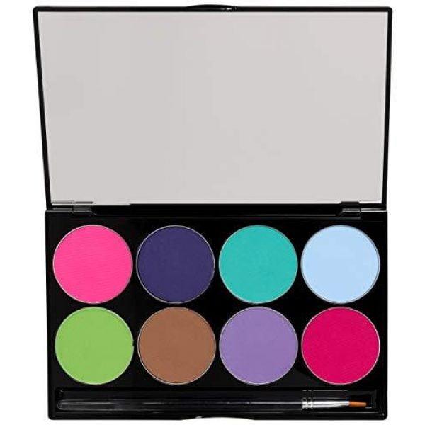 Mehron Paradise Makeup AQ – 8 Color Palette – Pastel