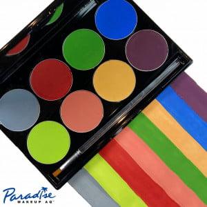 Mehron Paradise Makeup AQ – 8 Color Palette – Tropical