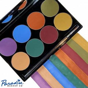 Mehron - Paradise Makeup AQ - 8-Color Palette - Nuance