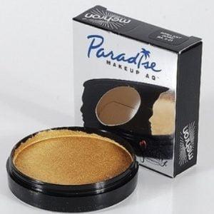 Mehron Paradise Makeup AQ – Brillant Dore (Metallic Gold)