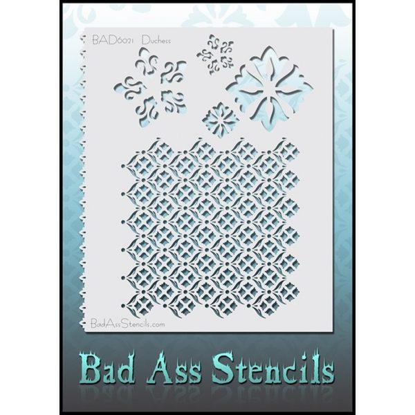 Bad Ass Stencils BAD6021 - Duchess