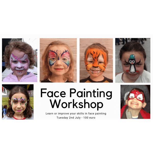 Copy of Face Painting Workshop 1