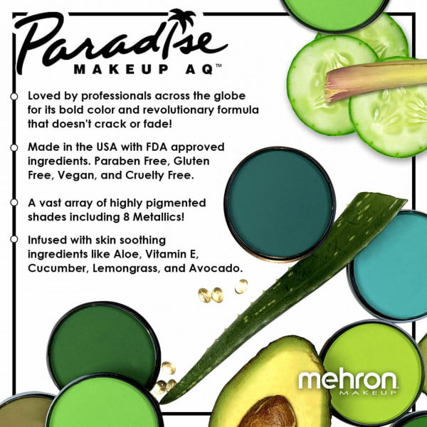 Mehron Paradise Makeup AQ