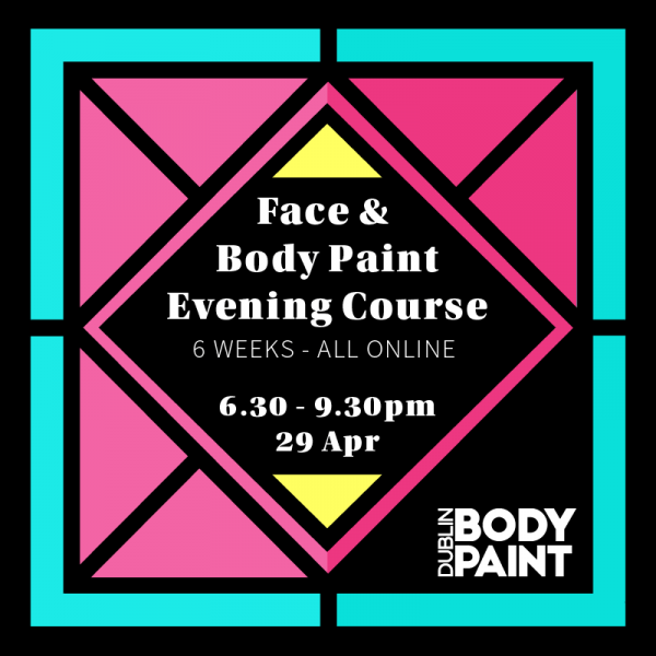 Face & Body Paint 6 week Evening Course (incl full paint Kit worth €175)