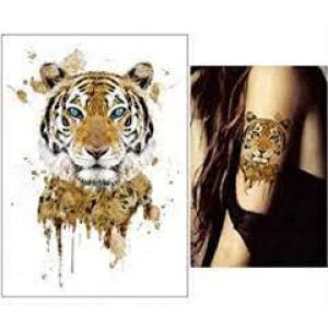 Temporary Tattoo TH-100 Tiger