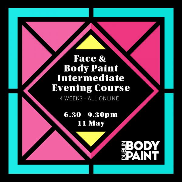 Face & Body Paint Intermediate 4 week Evening Course