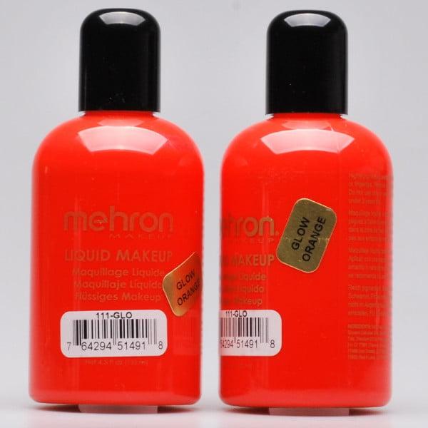 Mehron Liquid Makeup - Glow Orange (130ml)