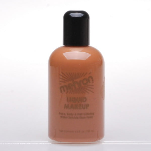 Mehron Liquid Makeup - Medium Olive (130ml)