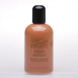 Mehron Liquid Makeup - Medium/Dark Olive (130ml)