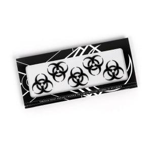Magic Markings Face Stickers - Biohazard