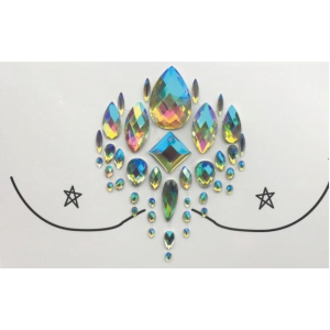 Face gems - Chest piece
