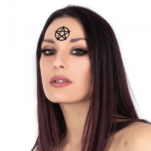 Magic Markings Face Stickers - Pentacle