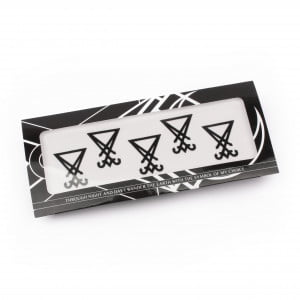 Magic Markings Face Stickers - Sigil of Lucifer