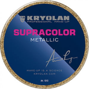 Kryolan Supracolor Metallic - Gold Greasepaint