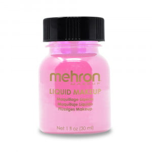 Mehron Liquid Makeup - Pink (30 ml)