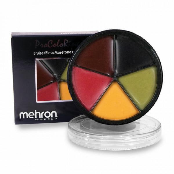 Mehron ColoRing - 5-Color Palette - Bruise