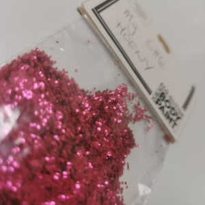 Loose Eco-Glitter Mix - My Little Hoeny (Cherry Red) 15g