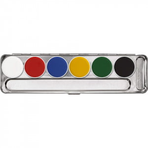 Kryolan Aquacolor Palette - A Primary Colours