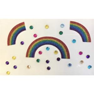 Face gems - PRF 02 Rainbows