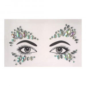 Face gems - LS1038 Iridescent Gems