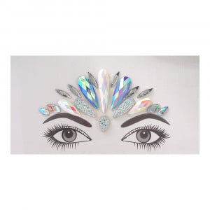 Face gems - LS1041 Iridescent