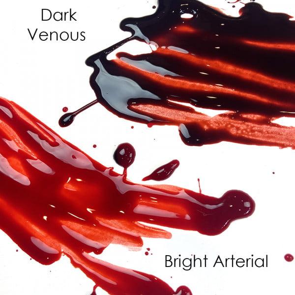 Mehron Stage Blood - Squirt Blood (Fake Blood) Dark Venous