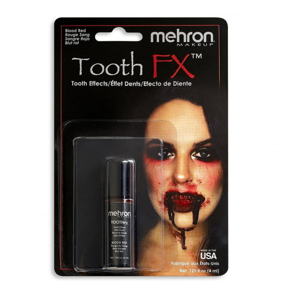 Mehron - Tooth FX - Blood Red (4 ml)