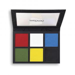 Mehron Edge 6 Color Palette Face & Body Makeup Palette Professional Colour