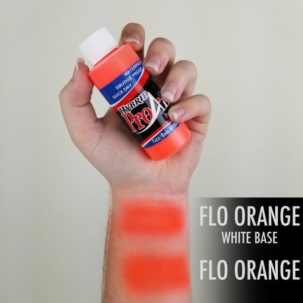 ProAiir Hybrid Fluorescent Orange 60ml (2oz) UV Neon Airbrush Paint