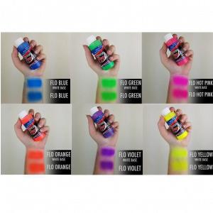 ProAiir Hybrid Fluorescent Colours Pack 6 x 30ml (1oz) Airbrush paint