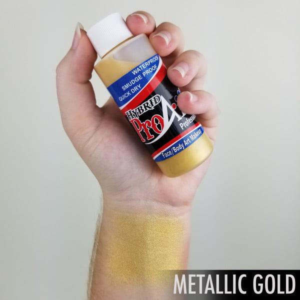 ProAiir Hybrid Gold 60ml (2oz) Airbrush Paint
