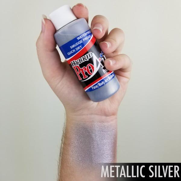 ProAiir Hybrid Silver 60ml (2oz) Airbrush Paint