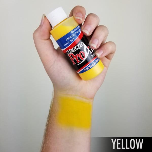 ProAiir Hybrid Yellow 60ml (2oz) Airbrush paint