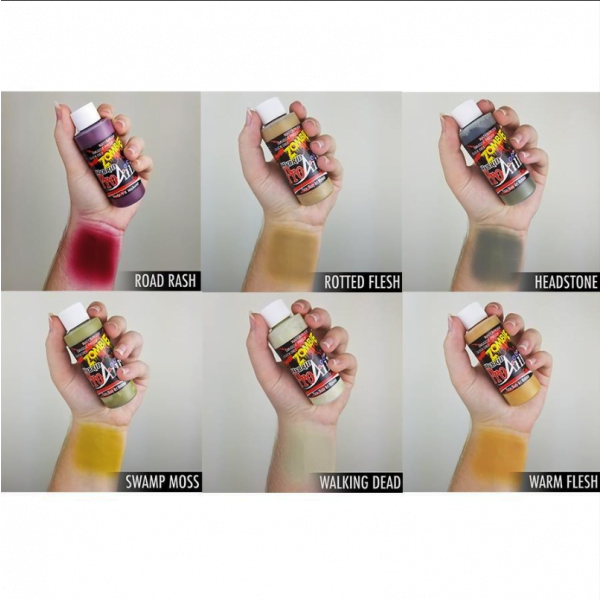ProAiir Hybrid Zombie I Pack 6 x 30ml (1oz) Airbrush paint