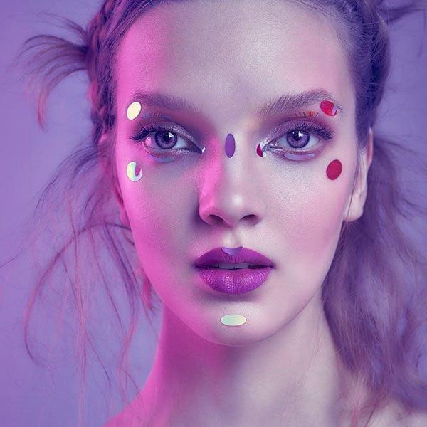 Face Lace- Dazzle Dots